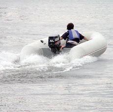 Китайский лодочный мотор фирмы Zongshen