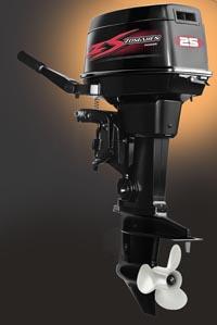 Подвесной лодочный мотор фирмы Zongshen-Selva